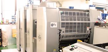 印刷設備について